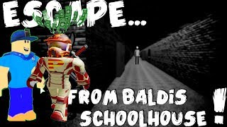 PGHLFILMS AND EFC GAMING PLAY THE BALDI'S BASICS MULTIPLAYER!! | ROBLOX Baldi Adventure