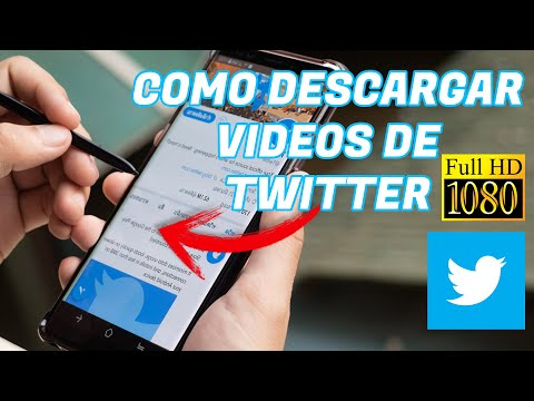 Como Descargar VIDEOS de TWITTER 2020 APP📲 Android Facil HD la mejor calidad 📲
