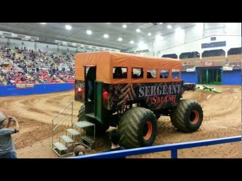 Sergeant Smash - Ride in a Monster Truck