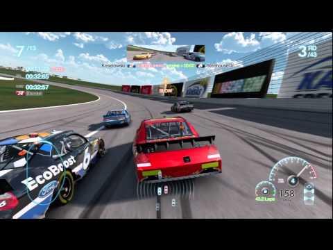 Kansas Race 8 Gameplay Career Mode Nascar The Game Inside Line |