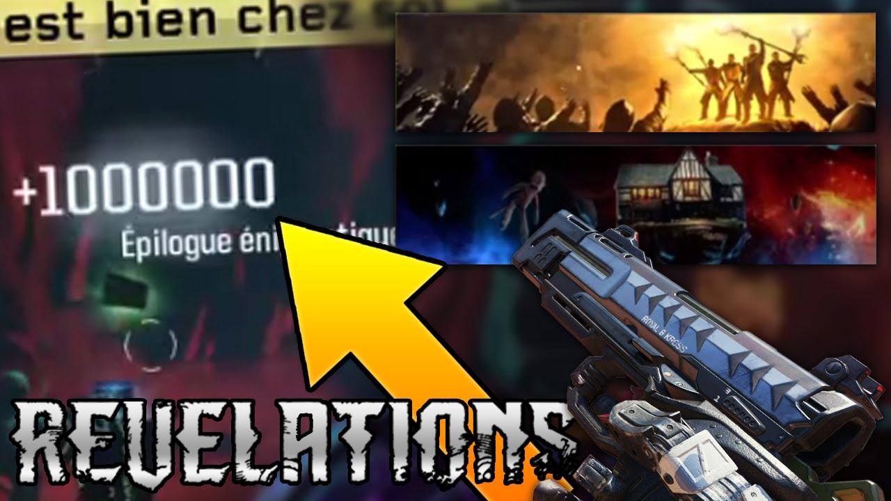REVELATIONS Recompenses Du Secret RK5 1000000 DXP Cartes Dagent
