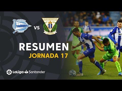 Resumen De Deportivo Alavés Vs CD Leganés (1-1)