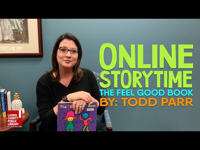 Online Storytime: The Feel Good Book by Todd Parr