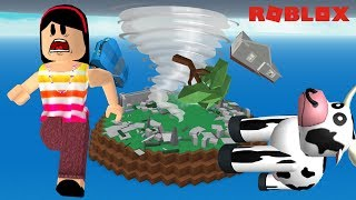 SURVIVE ON THE ISLAND OF NATURAL DISASTERS!! -ROBLOX (NATURAL DISASTER SURVIVAL)