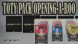 TOTY Pack Opening and Reveal! NHL 18