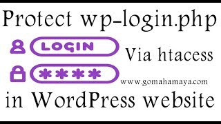 Protect wp-login.php file using htacess in your WordPress website Mp3