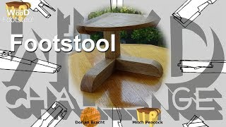 100% Wood Challenge Ep.1: Footstool with Dorian Bracht (Plan to download)