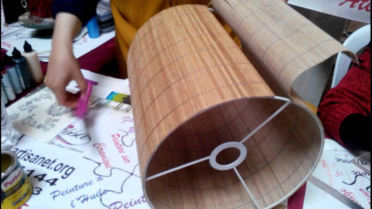 Fabriquer Carcasse Abat Jour démonstration fabrication des abat-jours kram 2014