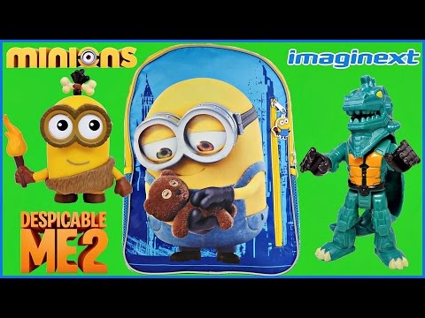 MINIONS SURPRISE BACKPACK Despicable Me Disney Lego Imaginext