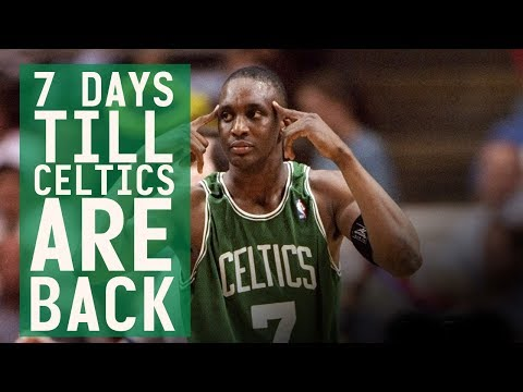 7 days till Celtics are back: #7 Dee Brown with a flying, two-handed block in 1993 playoffs!