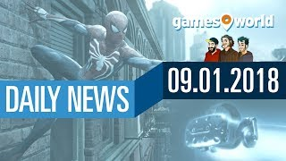 HTC Vive Pro, Fable 4, New World, Spider-Man   Gamesworld Daily News - 09.01.2017