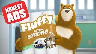 An honest toilet paper commercial