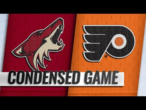 11/08/18 Condensed Game: Coyotes @ Flyers