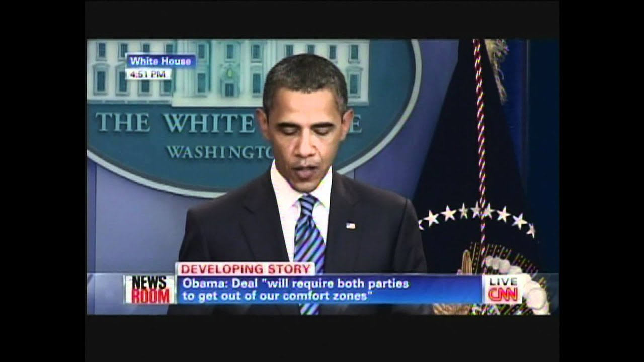 President Obama on Dept Crisis (July 5, 2011) - YouTube