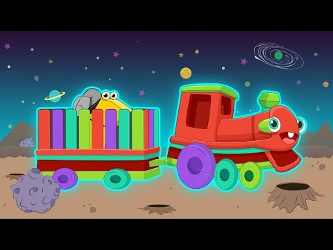 Numbers song   Can you guess, what's my load? Turkish Nursery Rhymes - Red Train