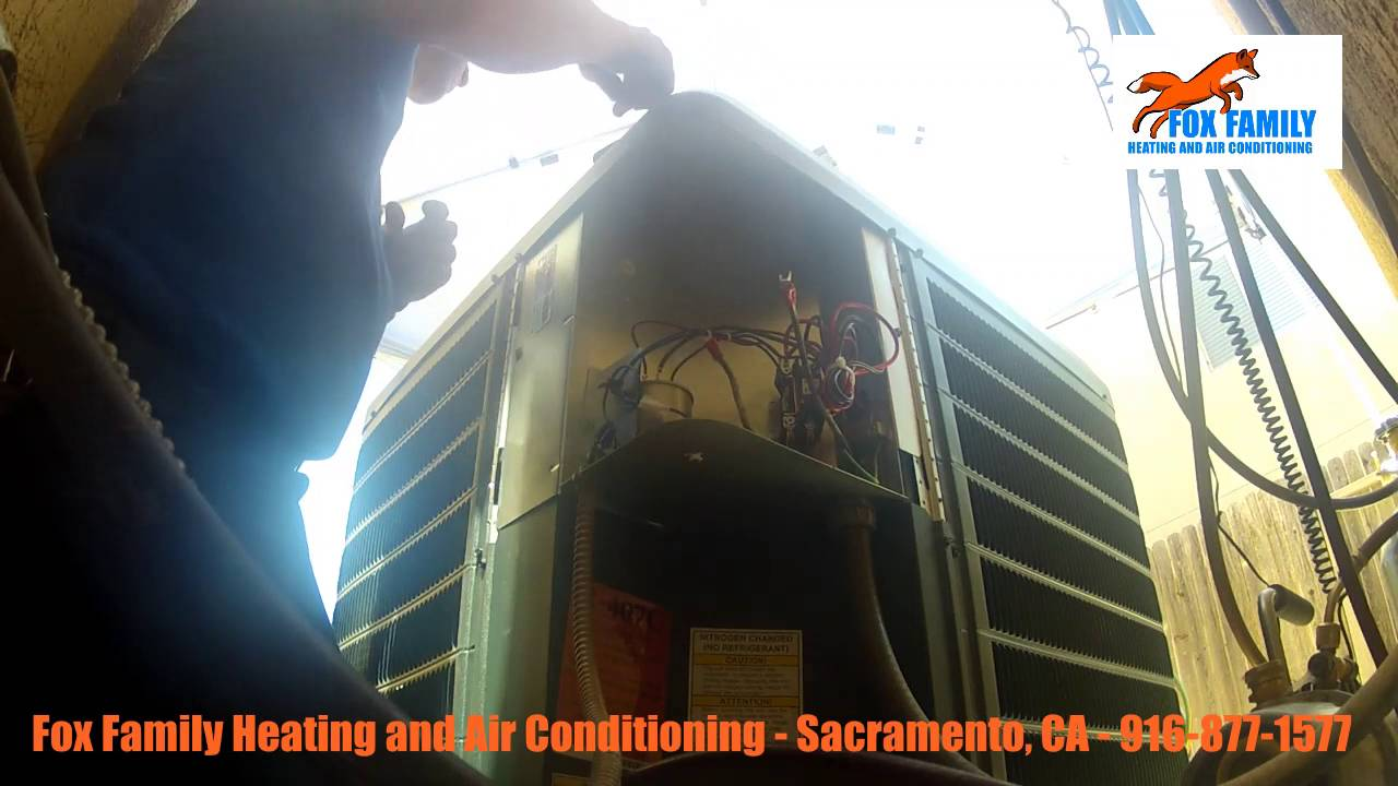 HVAC Service Call Dry 407c Condenser Replacing York YouTube