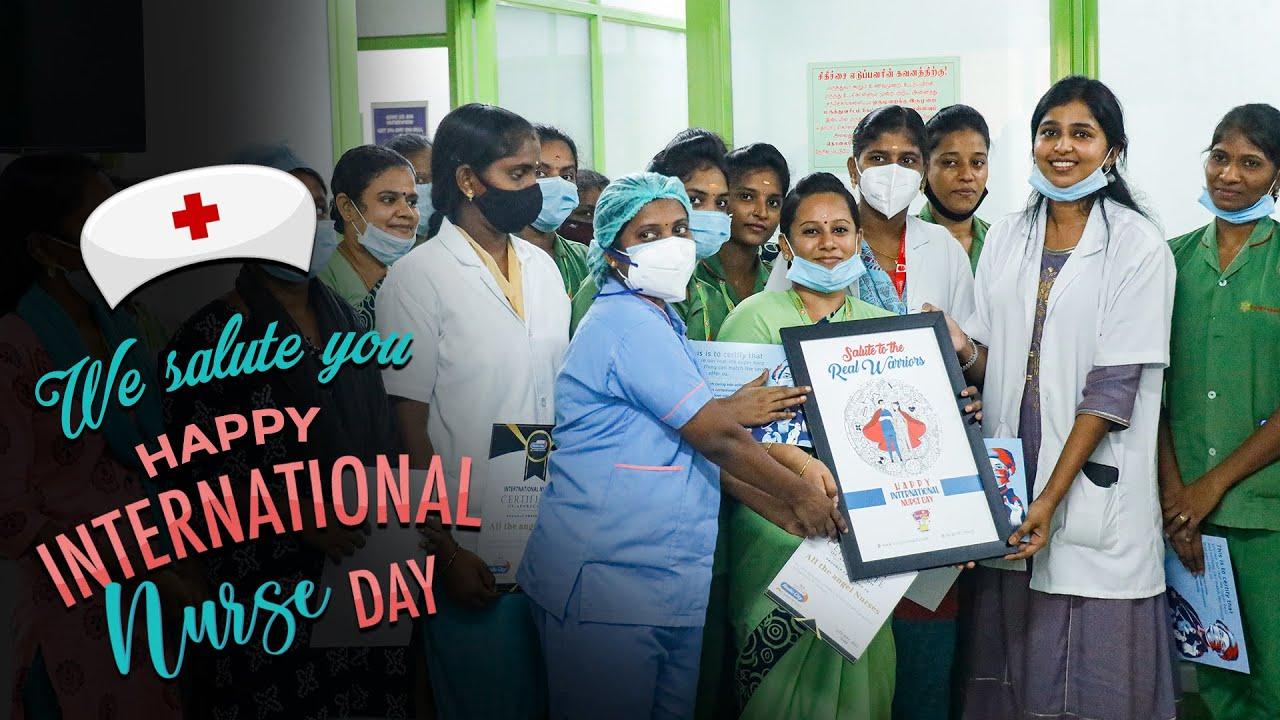 A Surprise to Nurses | International Nurse Day 2021 | Surprise Machi