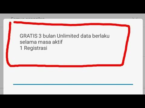 Terbaru Kuota internet gratis 3 bulan unlimited