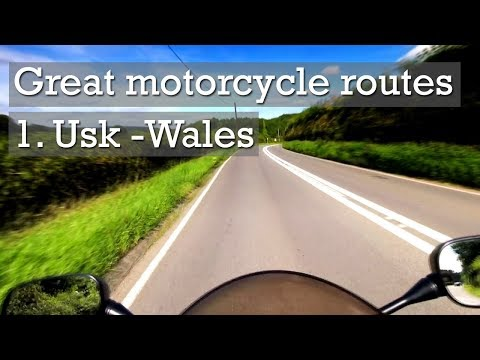 UK Motorcycle Routes: Chepstow To Usk, Wales