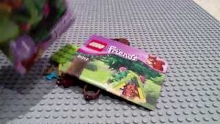 Lego Friends Series 1 Polybags- Squirrel's Tree House Live Build And Review