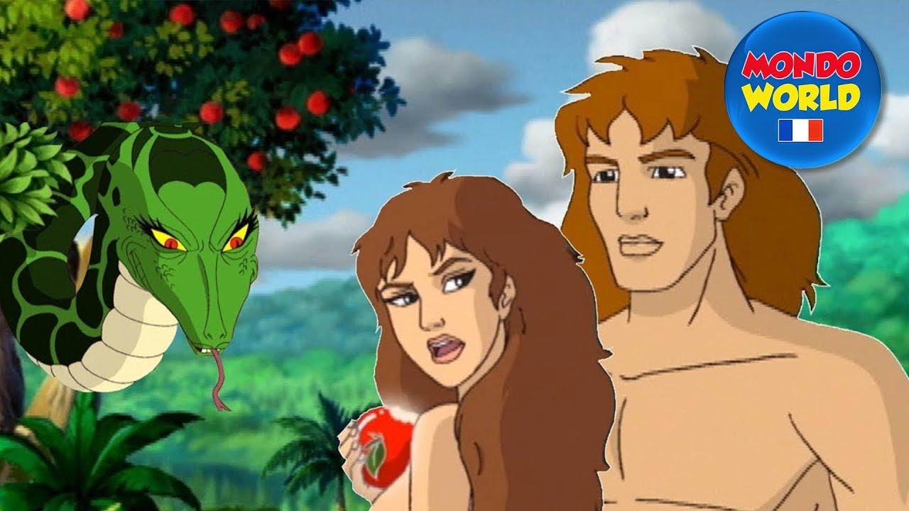 ADAM ET EVE dessin anime | La creation du monde | Ancien Testament | La Bible pour les enfants