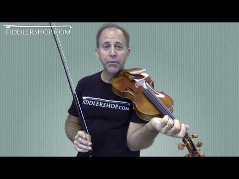 Scott Cao Bench Made Violin - Thais Meditation