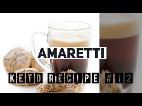 Keto Recipe #12 Italian Almond Cookies or Amaretti - Ketogenic Diet