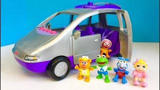 NEW FISHER PRICE Loving Family Musical Silver Purple Van MUPPET BABY TOYS Videos!