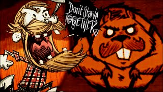 O Chuck Norris Castor - Don't Starve Together (Feat Amigos)