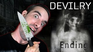 Devilry | Indie Horror Game (Normal Ending) - THE GHOST IS...?!