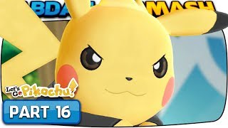 Pokemon Let's Go Pikachu & Eevee - Part 16: ELITE 4 & CHAMPION! (100% Walkthrough)