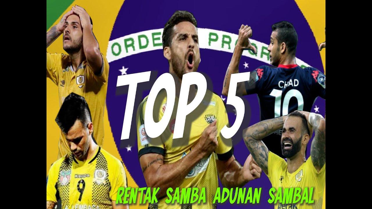 Download TOP 5 PENYERANG TERBAIK DARI BRAZIL YANG PERNAH BERMAIN UNTUK PERAK FC 🇧🇷💛🖤