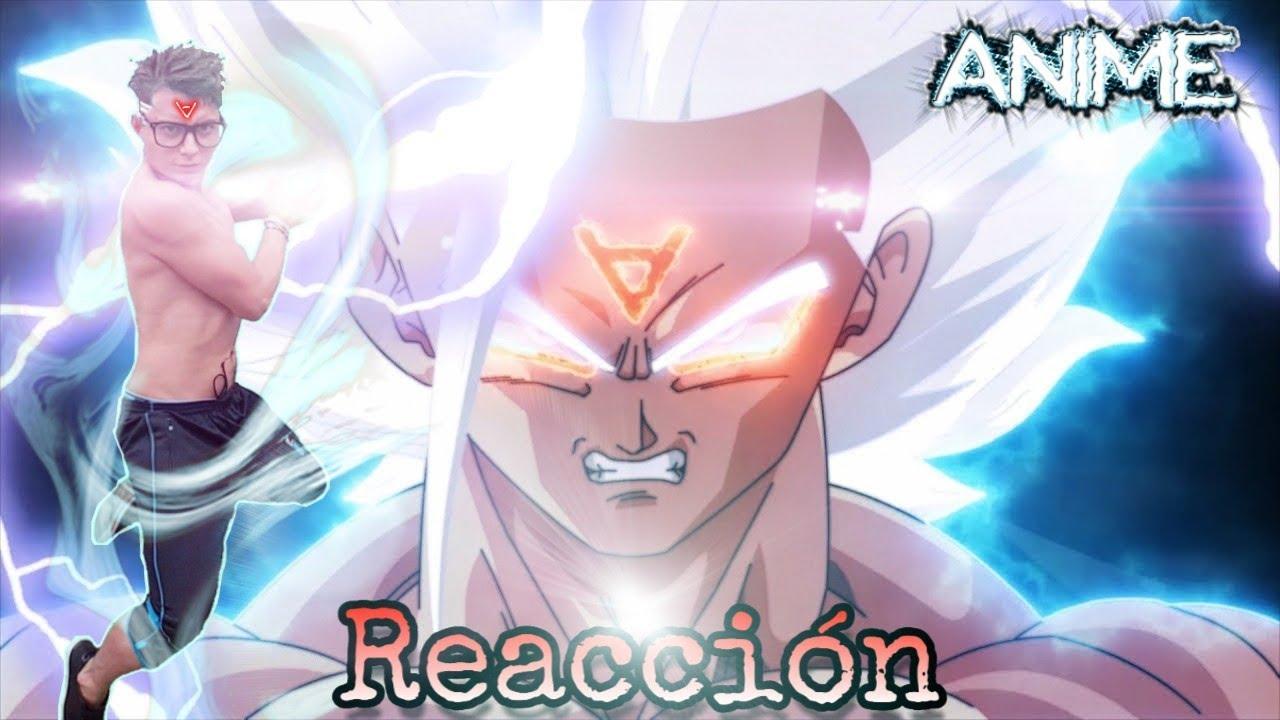 Anime War Episodio 12 Goku Alcanza Su Transformación Más Poderosa Reacción Youtube