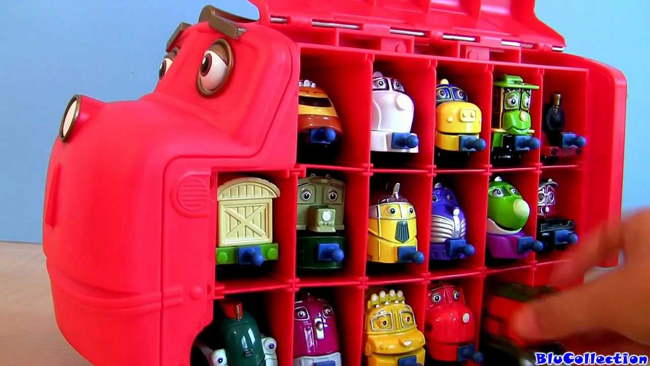 Big Wilson Carry Case Chuggington Stores 17 Diecast Trains