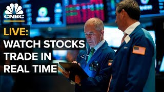 Watch stocks trade in real time – 08/08/2019