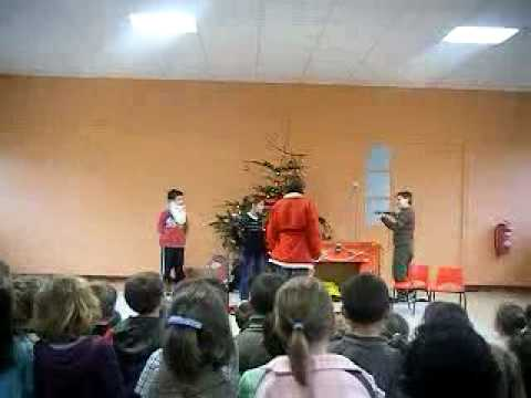 Chateauponsac Harry School Play 16/12/08