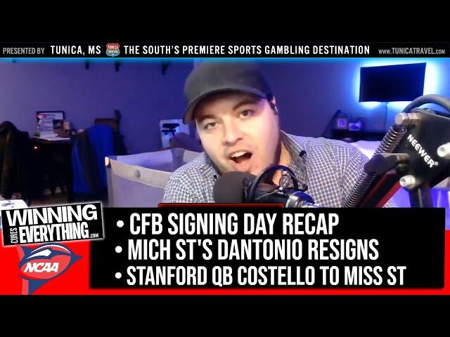 WCE: 2020 Recruiting Recap, Dantonio resigns, and Costello to Miss St