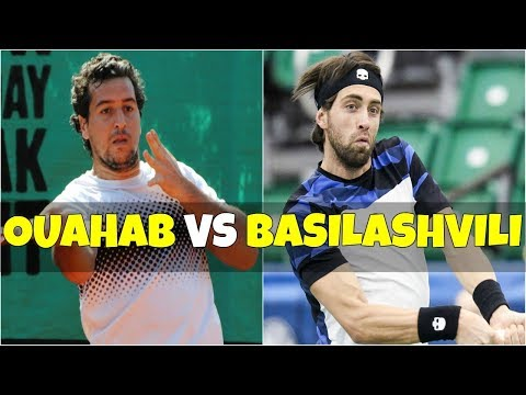 Lamine Ouahab vs Nikoloz Basilashvili | 2R Marrakech 2018 Highlights HD