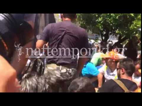 Πορεία ΠΟΕ-ΟΤΑ: Ένταση έξω από τη Βουλή