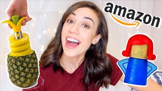 TESTING WEIRD AMAZON KITCHEN GADGETS 2!
