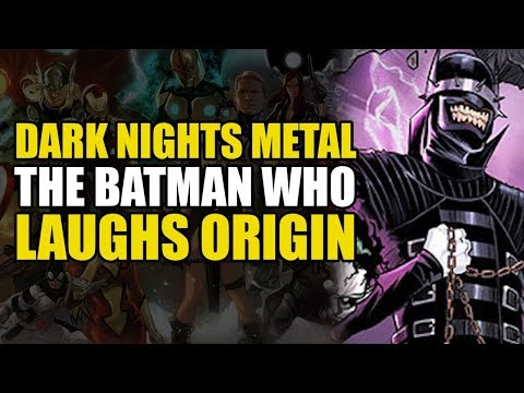 Origin Of The Batman Who Laughs! (Dark Nights Metal: The Batman Who Laughs)