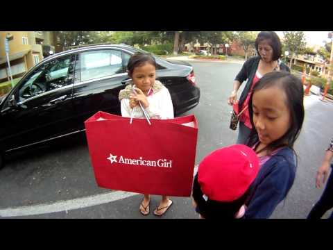Surprise American girl doll