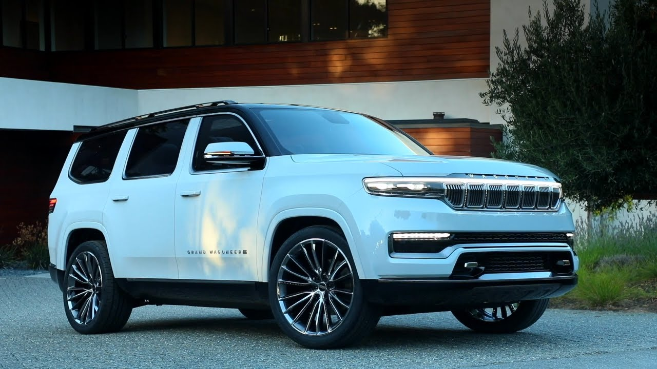 FIRST LOOK: 3 Jeep Grand Wagoneer Concept