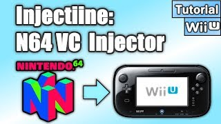 How to Soft-Mod WiiU: Pt 14 - Injectiine = N64 to Virtual Console & Install to Home Menu