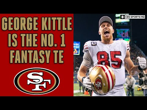 George Kittle Interview, explains why he is the best fantasy football TE in the NFL | CBS Sports HQ