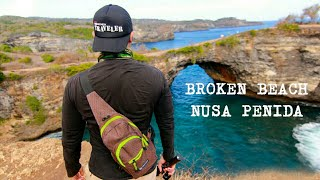 [ TRAVELING SERIES CHANNEL ] GILA TRAVEL WITH KANTY WIDJAJA - PART 3 BROKEN BEACH, NUSA PENIDA
