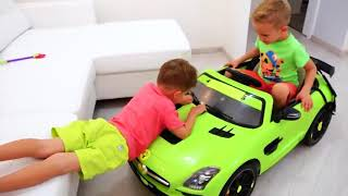Magic Little Driver ride on Toy Cars - baby tv show