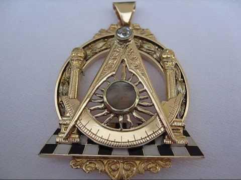 14k Gold Charm Freemason Square Amp Compass Youtube