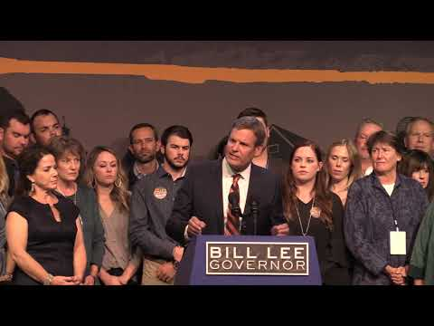 Tennessee election: Bill Lee gives victory speech