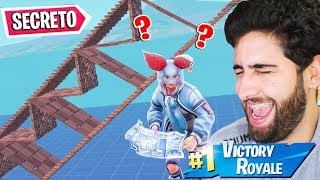 I USED THE NEW * SECRET RAMP TO TROLLAR THE ENEMIES! -FORTNITE